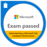 Microsoft 70-764 Badge SQL Consultant