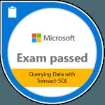 Microsoft 70-761 Badge SQL Consultant