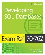 70-762 Developing SQL Databases Book Cover