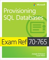 70-765 Provisioning SQL Databases Book Cover