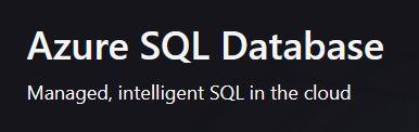 Microsof Azure SQL Logo